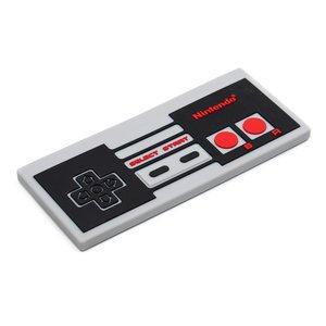 Bumkins Silicone Baby Teether Nintendo NES Controller