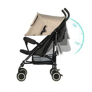 EVEZO 2141A Full-Size Ultra Lightweight Stroller