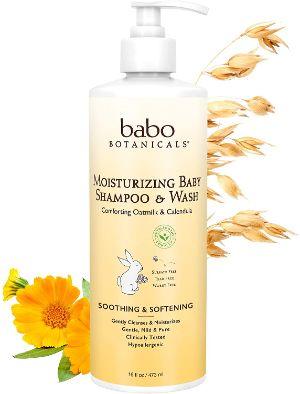 Babo Botanicals Moisturizing Baby 2-in-1 Shampoo & Wash