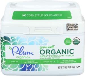 Plum Organics, Organic Infant Formula