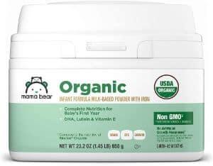 Mama Bear USDA-Certified Organic Infant Formula