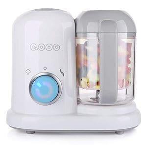 minne QOOC 4-in-1 Mini Baby Food Maker