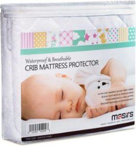 Masirs Crib Mattress Protector Cover-min
