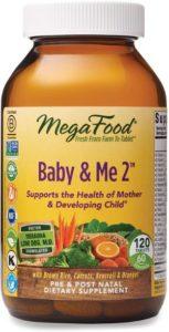 MegaFood Baby & Me 2 Prenatal Vitamin