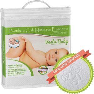 Vesta Baby Crib Mattress Protector-min